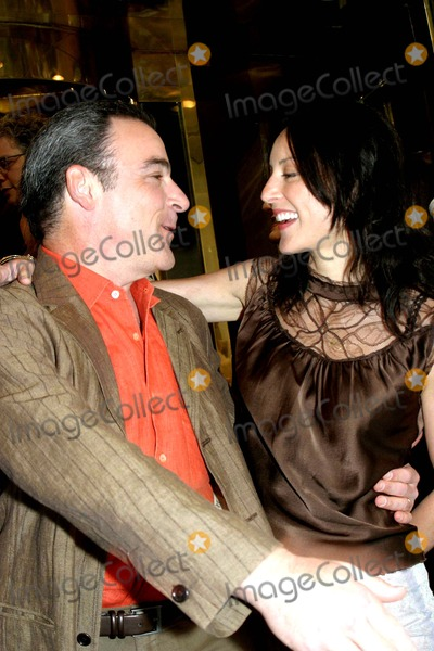Mandy Patinkin, Lola Glaudini Photo - Celebs From the Upfronts Out and About in New York City 05-18-2005 Photo: Barry Talesnick / Ipol / Globe Photos Inc 2005 Mandy Patinkin and Lola Glaudini