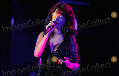 Photo - Portuguese Fado Singer Ana Moura Performing Live at Lisbon Coliseum in Lisbon , Portugal 06-26-2008 Photo by Alexandre Pona-ciryfiles-Globe Photos, Inc.