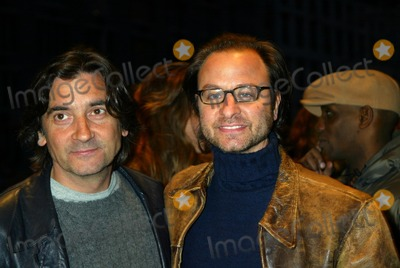"Fisher Stevens, Griffin Dunne, Griffin Dunn Photo - ""City of Ghosts"" Premiere at the Clearview Chelsea West Cinema in New York City 04/21/2003 Photo by Sonia Moskowitz/Globe Photos, Inc. 2003 Griffin Dunne and Fisher Stevens"