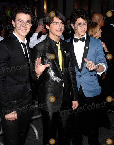 Jonas Brothers, The Jonas Brothers, Jona Photo - The Jonas Brothers During Jonas Brothers the 3d Concert Experience, Held at the El Capitan Theatre, on February 24, 2009, in Los Angeles. Photo: Michael Germana / Superstar Images - Globe Photos