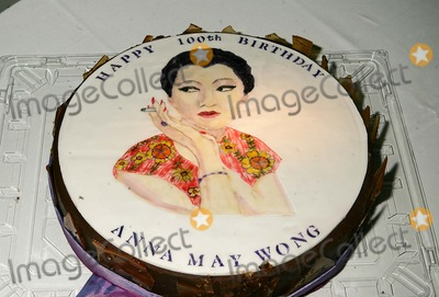 "Cake, Anna MAY Wong Photo - Pan Asian Repertory Theatre Benefit, Celebrating the 100th Birthday of Anna May Wong, "" Hollywood First Asian-american Star "" at the Manhattan Penthouse in New York City 1-24-2005 Photo By:rick Mackler-rangefinders-Globe Photos, Inc"