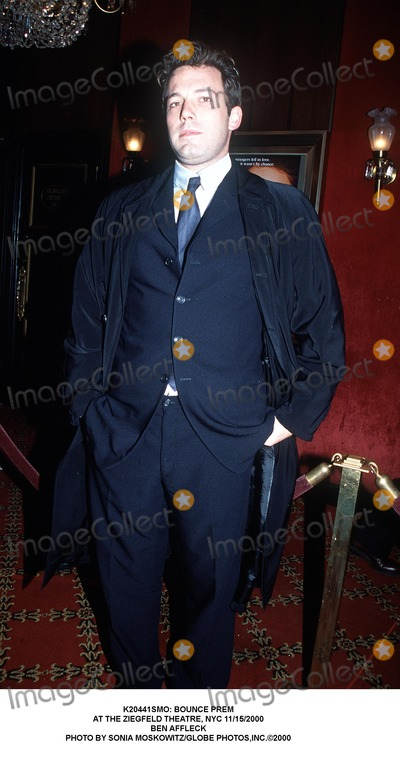 Ben Affleck Photo - : Bounce Prem at the Ziegfeld Theatre, NYC 11/15/2000 Ben Affleck Photo by Sonia Moskowitz/Globe Photos,inc.