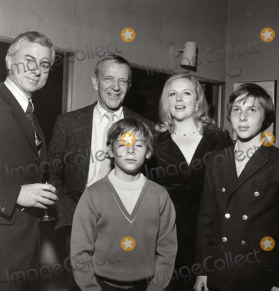 Astaire, Fred Astaire Photo - Fred Astaire with Family Son-in-law Richard Mckenzie, Daughter Ava, Grandsons Kevin and Tyler Photo: Nate Cutler/Globe Photos Inc