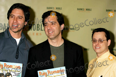 "Ray Romano Photo - Ray Romano and His Brothers, Richard and Robert, at Barnes and Nobles For Booksigning of Their Book, ""Raymie, Dickie, and the Bean, Why I Love and Hate My Brothers"". New York City. 03-29-2005 Photo: Rick Mackler / Rangefinders / Globe Photos Inc"
