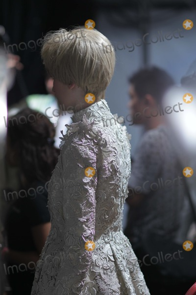 Photo - Christophe Josse: Backstage - Paris Fashion Week Haute Couture f/w 2011/2012 Couvent Des Cordeliers, Paris, France 07-04-2011