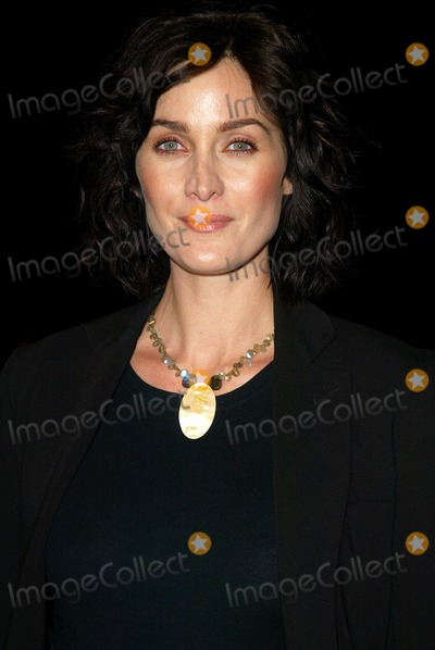 Carrie Anne Moss, Carrie Anne Moss, Carrie-Anne Moss, The Matrix, Carrie Ann Moss, Carrie-Ann Moss Photo - . Enter the Matrix - Final Flight of the Osiris- Preview. on the Warner Brothers Studio Lot. in Burbank, CA. 2/4/2003 . Photo by Fitzroy Barrett / Globe Photos Inc. 2003 Carrie-anne Moss