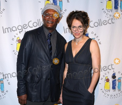 "Amy Brenneman, Samuel L. Jackson Photo - Annual ""I Have a Dream Foundation"" Gospel Brunch at the House of Blues Sunset Strip in West Hollywood, CA 2011 3/6/11 photo by Scott Kirkland-globe Photos @ 2011 Samuel L. Jackson and Amy Brenneman"