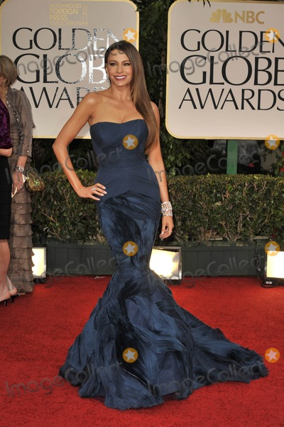 Sofia Vergara Photo - The 69th Annual Golden Globes - Red Carpet Arrivals- Beverly Hills, CA 1/15/2012 Photo by Joe White-Globe Photos, Inc. Sofia Vergara