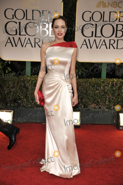 Angelina Jolie, ANGELINA JOLIE, Photo - The 69th Annual Golden Globes - Red Carpet Arrivals- Beverly Hills, CA 1/15/2012 Photo by Joe White-Globe Photos, Inc. Angelina Jolie