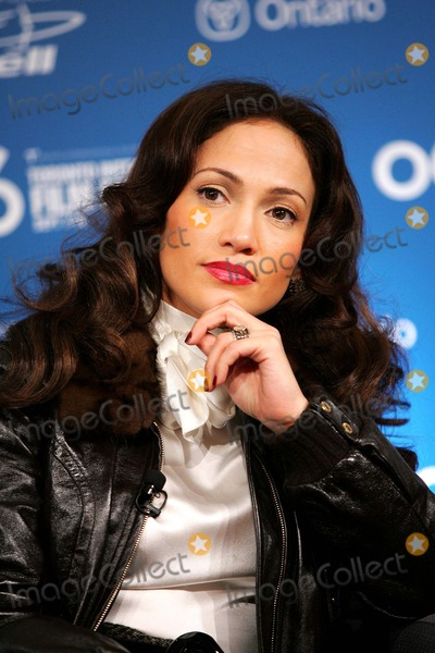 "Jennifer Lopez, JENNIFER LOPEZ, Photo - Jennifer Lopez Discussing the Film ""El Cantante"" at a Press Conference at the Sutton Place Hotel on 09-13-2006. It Is Part of the 2006 International Film Festival in Toronto, Canada. K49779am Photo by Alec Michael-Globe Photos"