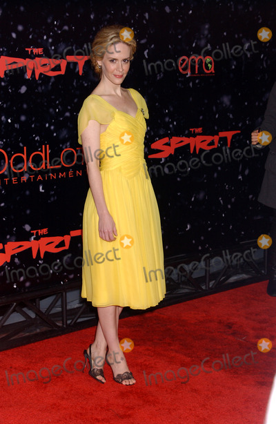 "Sarah Paulson Photo - the Los Angles Premiere of ""the Spirit"" at Grauman's Chinese Theatre, Hollywood CA 12-17-2008 Photo by Phil Roach-ipol-Globe Photos Sarah Paulson"