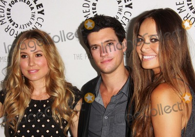 "Moon Bloodgood, Sarah Carter, Drew Roy Photo - Sarah Carter, Drew Roy, Moon Bloodgood the Paley Center For Media Presents an Evening with ""Falling Skies"" Held at the Paley Center For Media, Beverly Hills, CA. July 19 - 2011. Photo: Tleopold/Globephotos"