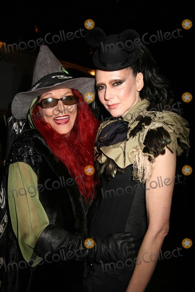 Patricia Field, Betsey Johnson, Susanne Bartsch, PATRICIA FIELDS Photo - Betsey Johnson Fashion Presentation-fall 2010-celebs the Altman Building, NYC February 14, 10 Photos by Sonia Moskowitz, Globe Photos Inc 2010 Susanne Bartsch and Patricia Field
