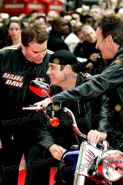 Photo - R.liotta,j.travolta & T.allen Actors Arrives For the Uk Film Premiere of Wild Hogs at the Odeon West End, Leicester Square in London. 03-28-2007 Photo by Tim Matthews-allstar-Globe Photos, Inc. 2007