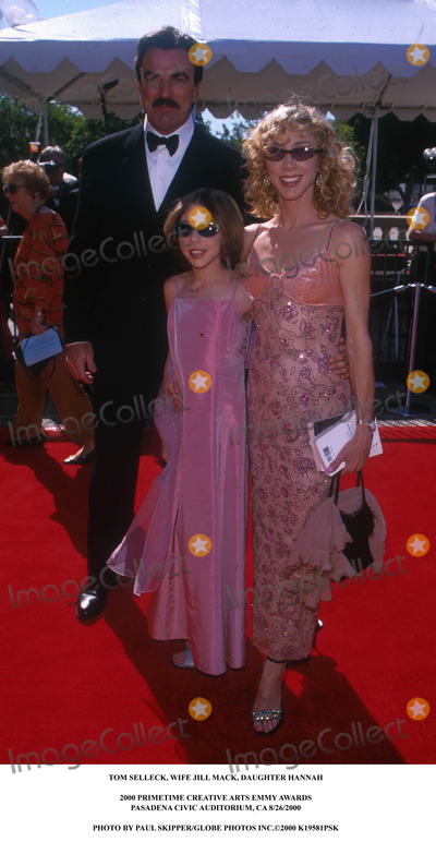 Tom Selleck Photo - Tom Selleck, Wife Jill Mack, Daughter Hannah 2000 Primetime Creative Arts Emmy Awards Pasadena Civic Auditorium, CA 8/26/2000 Photo by Paul Skipper/Globe Photos Inc.2000