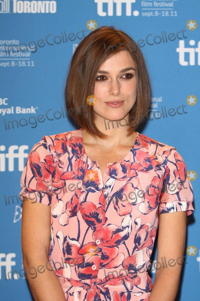 "Keira Knightley Photo - Actress Keira Knightley attends the Press Conference of ""a Dangerous Method"" at the Toronto International Film Festival, Tiff, at Bell Lightbox in Toronto, Canada, on 10 September 2011. Photo: Alec Michael"