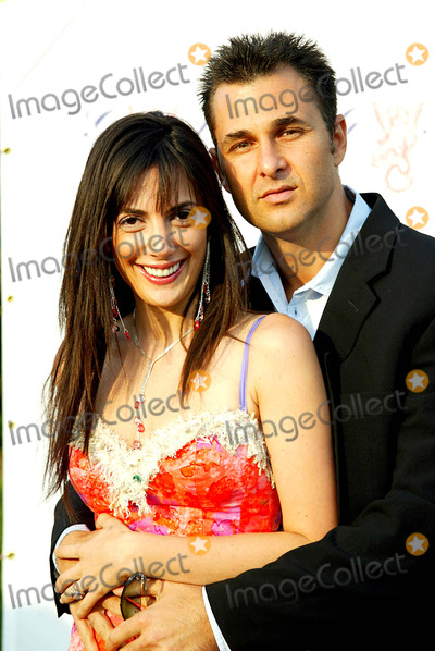 Daniella Rich, Richard Kilstock Photo - a Glittering Night Under the Stars to Benefit the G+p Foundation For Cancer Research. Southhampton, Long Island, New York. 07/10/2004 Photo: Sonia Moskowitz / Globe Photos 2004 Daniella Rich and Her Fiance, Richard Kilstock