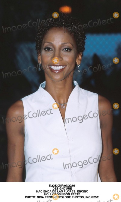 Holly Robinson Peete, Holly Robinson-Peete, Hollies, Holly Robinson-Peet Photo - :07/20/01 Designcure Hacienda DE Las Flores, Encino Holly Robinson Peete Photo: Nina Prommer/Globe Photos, Inc.