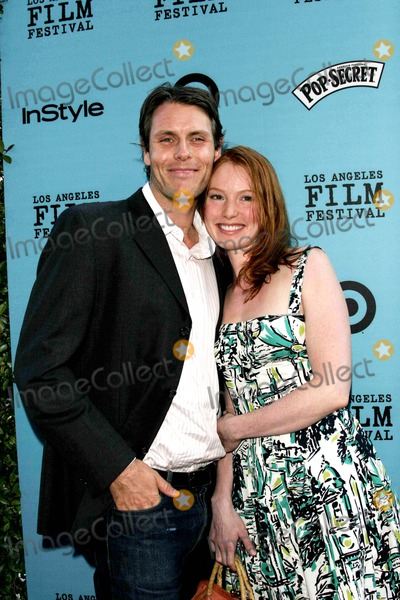Alicia Witt Photo - Alicia Witt and Boyfriend Nathan Folger - Nine Lives - Premiere - Academy Theater, Beverly Hills, CA - 06-21-2005 - Photo by Nina Prommer/Globe Photos Inc2005 -