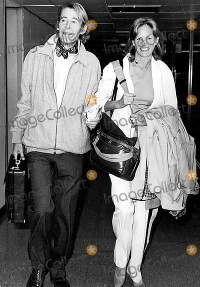 Peter O Toole, Peter O'Toole, Tool Photo - Peter O'toole and Girlfriend Karen Brown at Heathrow Airport Globe Photos, Inc. Petero'tooleretro