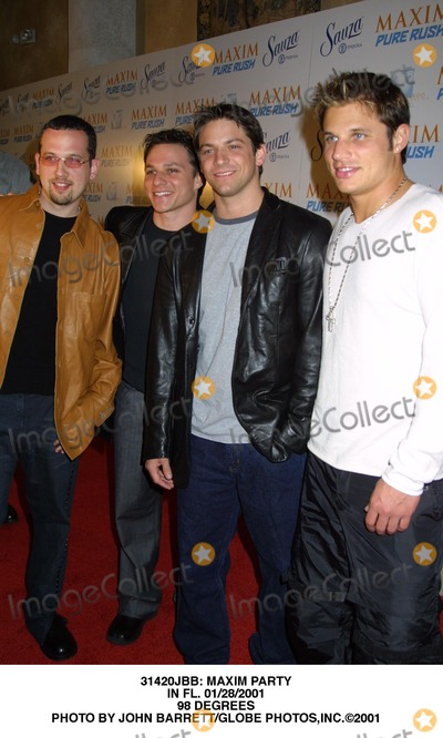 98 Degrees Photo - : Maxim Party in FL. 01/28/2001 98 Degrees Photo by John Barrett/Globe Photos,inc.