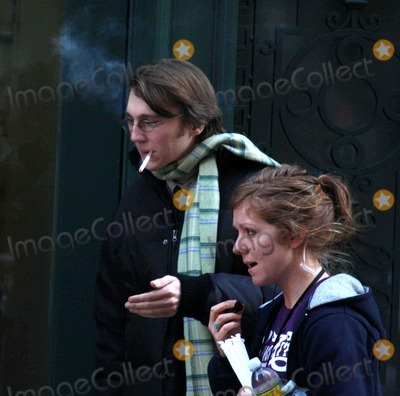 Paul Dano Photo - -24-09 Paul Dano on the Set Of''the Extra Man'' in Midtown N.Y. Photos by John Barrett-Globe Photos,inc