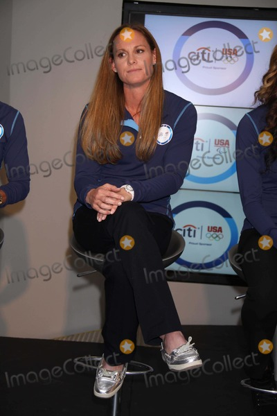 Photo - Christie Rampone Olympic Soccer at Citi Bank Unveils U.s. Olympic Sponsorship Campaign Supporting Team Citi Athletes and the U.s. Olympic and Paralympic Sports Programs at 399 Park Ave 4-12-2012 Photo by John Barrett/Globe Photos