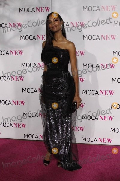 Zoe Saldana Photo - Actress Zoe Saldana Arrives at the Museum of Contemporary Art's Moca 30th Anniversary Gala at Moca Grand Avenue in Downtown Los Angeles, USA, on November 15th, 2009. Photo: Hubert Boesl