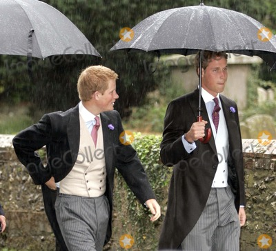 Prince, Prince Harry, Prince William, William Prince, Tom Parker, Tom Parker Bowles, Tom Parker-Bowles, SARAH BUYS Photo - Tom Parker Bowles & Sarah Buys Wedding-st.nicholas Church, Rotherfield Greys, Nr.henley-on-thames, Oxfordshire, England, Uk. Mark Chilton-globelinkuk.com-Globe Photos, Inc. 001586 09-10-2005 Prince William & Prince Harry