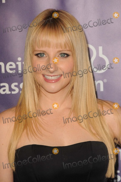 "Melissa Rauch Photo - Melissa Rauch attending the 20th Anniversary Alzheimer's Association ""a Night at Sardi's"" Held at the Beverly Hilton Hotel in Beverly Hills, California on 3/21/12 Photo by: D. Long- Globe Photos Inc."