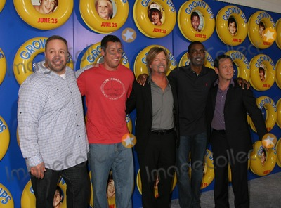 "David Spade, Chris Rock, Adam Sandler, Kevin James, Rob Schneider Photo - a Screening of Columbia Pictures' ""Grown Ups"" at the Ziegfeld Theater in New York City on 06-23-2010 Photo by Paul Schmulbach-Globe Photos, Inc. David Spade, Chris Rock, Adam Sandler, Kevin James, Rob Schneider"