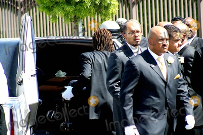 Johnnie Cochran Photo - Funeral of Johnnie Cochran Jr. West Angeles Cathedral, Los Angeles, CA. 04-06-05 Photo by Milan Ryba/Globe Photos Inc. 2005 Casket