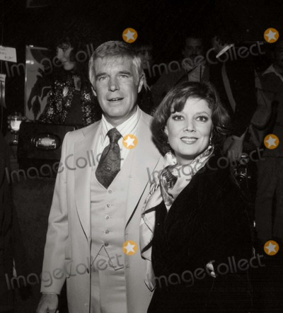 George Peppard Photo - George Peppard/wife Sherri Photo: Nate Cutler/Globe Photos Inc