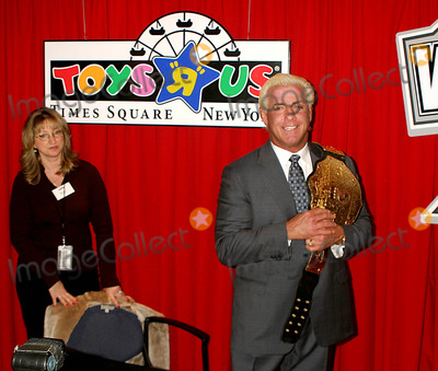 Ric Flair, Triple H, Triple H., Triple-H, XX Photo - Wwe Raw Superstars Triple H and Ric Flair to Appear at Toys R Us As Wrestlemania Xx Hits the Big Apple Where It All Begins Again Times Square, New York City 3/10/2004 Photo By:rick Mackler/rangefinders/Globe Photos, Inc