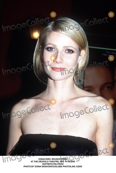 Gwyneth Paltrow Photo - : Bounce Prem at the Ziegfeld Theatre, NYC 11/15/2000 Gwyneth Paltrow Photo by Sonia Moskowitz/Globe Photos,inc.