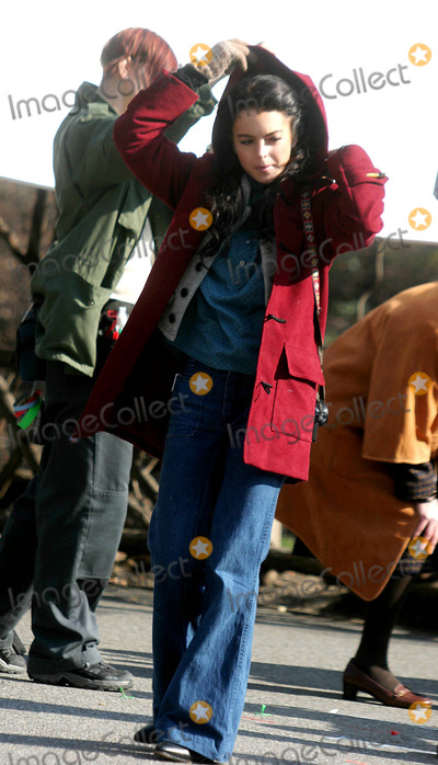 Lindsay Lohan Photo - Filming of ''Chapter 27'' in Central Park Date 02-02-06 Photo by John Barrett-Globe Photos,inc Lindsay Lohan