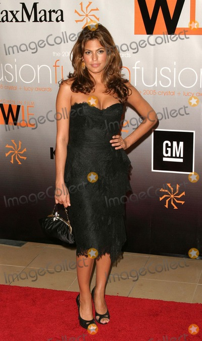 Eva Mendes, Fusion Photo - Women in Film Presents Fusion, the 2005 Crystal and Lucy Awards at the Beverly Hilton Hotel in Beverly Hills, California 06-10-2005 Photo by Kathryn Indiek/Globe Photos Inc. 2005 Eva Mendes