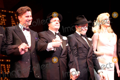 "Matthew Broderick, Nathan Lane, The Producers Photo - Curtain Call at the Producers Nathan Lane and Matthew Broderick Return to ""Producers"" to Reprise Their Roles at the St. James Theatre , NYC. 12/30/2003 Photo by Rick Mackler / Rangefinders / Globe Photos,inc."