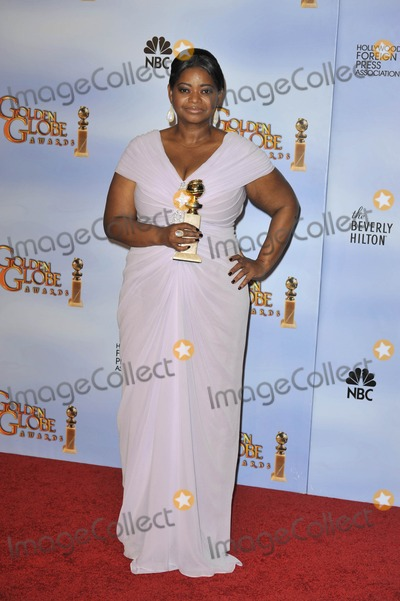 Octavia Spencer Photo - The 69th Annual Golden Globes - Press Room - Beverly Hills, CA 1/15/2012 Pho