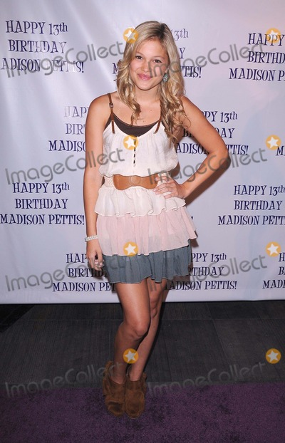 Olivia Holt, Madison Pettis Photo - Madison Pettis's 13th Birthday Party at Eden in Hollywood, CA 7/31/11 Photo by Scott Kirkland-Globe Photos @ 2011 Olivia Holt