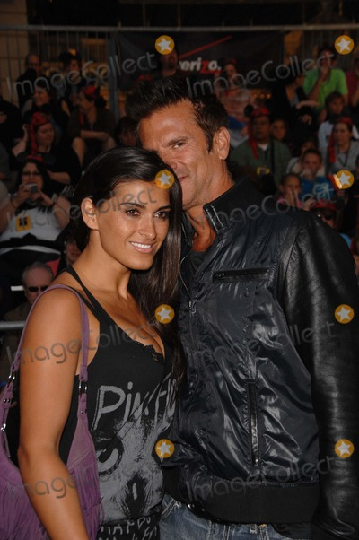 Lorenzo Lamas, Shawna, Walt Disney Photo - Shawna Craig and Lorenzo Lamas During the Premiere of the New Movie From Walt Disney Pictures Pirates of the Caribbean: on Stranger Tides, Held at Disneyland, on May 7, 2011, in Anaheim, california.