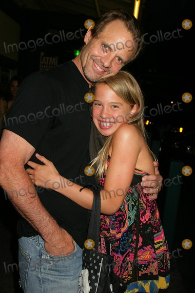 "Jennifer Blanc, Michael Biehn, Louise Thompson, Jennifer Blanc-Biehn Photo - Jennifer Blanc-biehns ""Kareoke"" Birthday Party Amagis, Hollywood, CA 04/21/09 Michael Biehn and Evie Louise Thompson Photo: Clinton H. Wallace-photomundo-Globe Photos Inc"