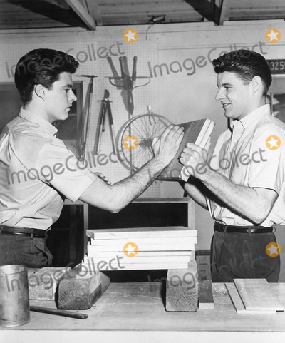 Rick Nelson, David Nelson Photo - Rick Nelson with David nelson