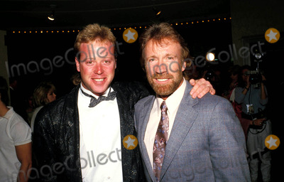 Photo of Chuck Norris & his  Son  Mike Norris