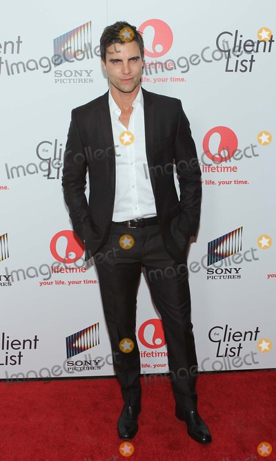 Colin Egglesfield Photo - Colin Egglesfield the Client List Launch Party Held at Sunset Tower Hotel,west Hollywood,california.april 4 2012.photo Tleopold/Globephotos