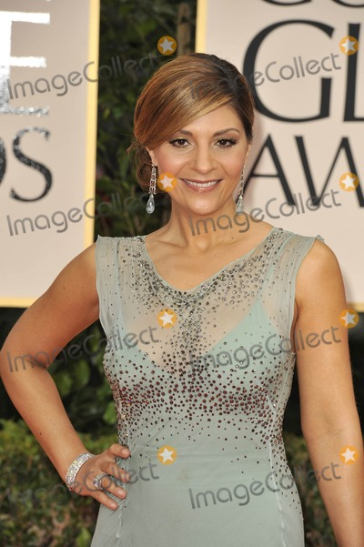 Callie Thorne, Cally Thorne, Callie Thorn Photo - The 69th Annual Golden Globes - Red Carpet Arrivals- Beverly Hills, CA 1/15/2012 Photo by Joe White-Globe Photos, Inc. Callie Thorne