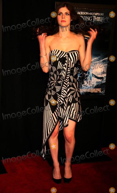 "Alexandra Daddario Photo - ""Percy Jackson and the Olympians: the Lightning Thief"" Screening Amc Loews Lincoln Center, NYC February 4, 2010 Photo by Sonia Moskowitz, Globe Photos Inc 2010 Alexandra Daddario"