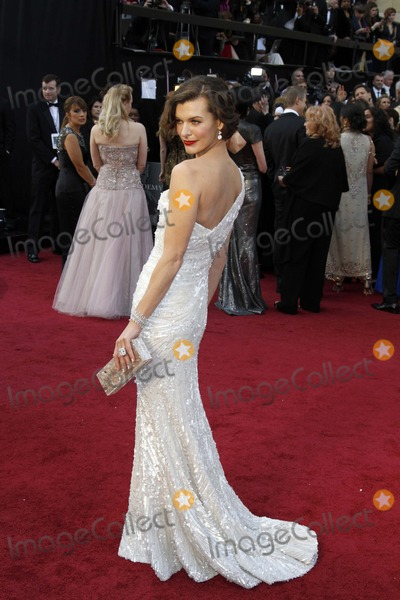 Milla Jovovich Photo - Milla Jovovich 84. Academy Awards - Oscars Hollywood, CA February 26, 2012 Roger Harvey-Globe Photos Inc