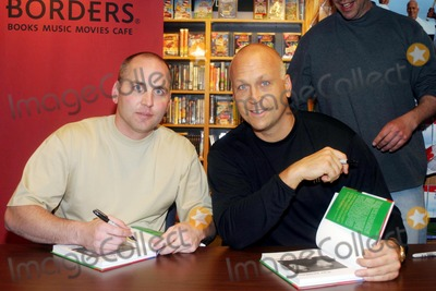 Cal Ripken, Cal Ripken Jr. Photo - Cal Ripken Jr and Bill Ripken Sign Copies of Play Baseball the Ripken Way at Borders, New York City 04/06/2004 Photo by Barry Talesnick/ipol/Globe Photos Inc