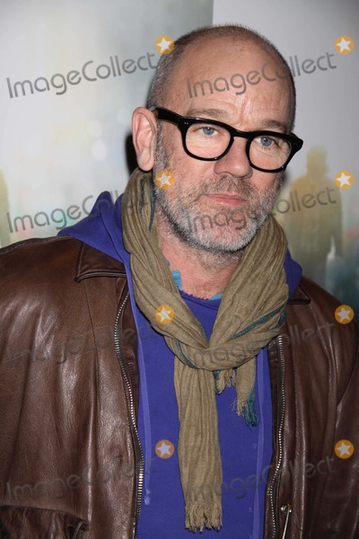 Michael Stipe Photo - Michael Stipe at NY Screening of ''Being Flynn'' at Tribeca Grand Hotel Screening Room 3-1-2012 Photo by John Barrett/Globe Photo